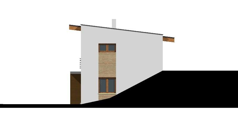 Typové domy ve svahu